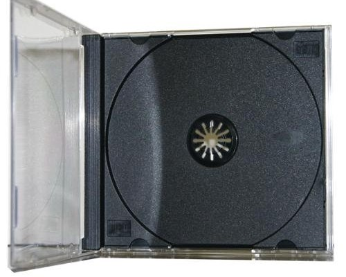 the standard cd jewel case is the most common and affordable cd packaging available it is a 3 piece construction with a removable tray