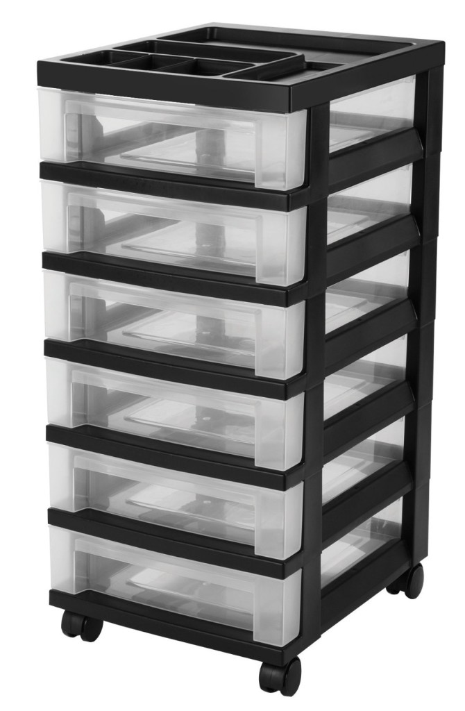 6 Drawer Cart With Organizer Dollar Moves Making Money